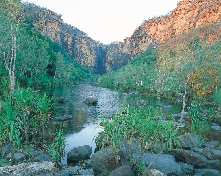 Guided adventure soft tours to Kakadu National park includes options to Jim Jim Falls - seasonal access late June till October