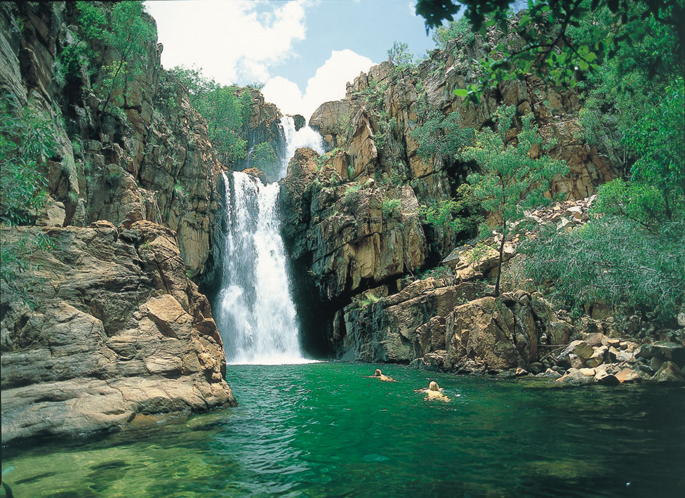 Southern Rockhole courtesy of NTTC Northern Territory tourism for Katherine regional tourism